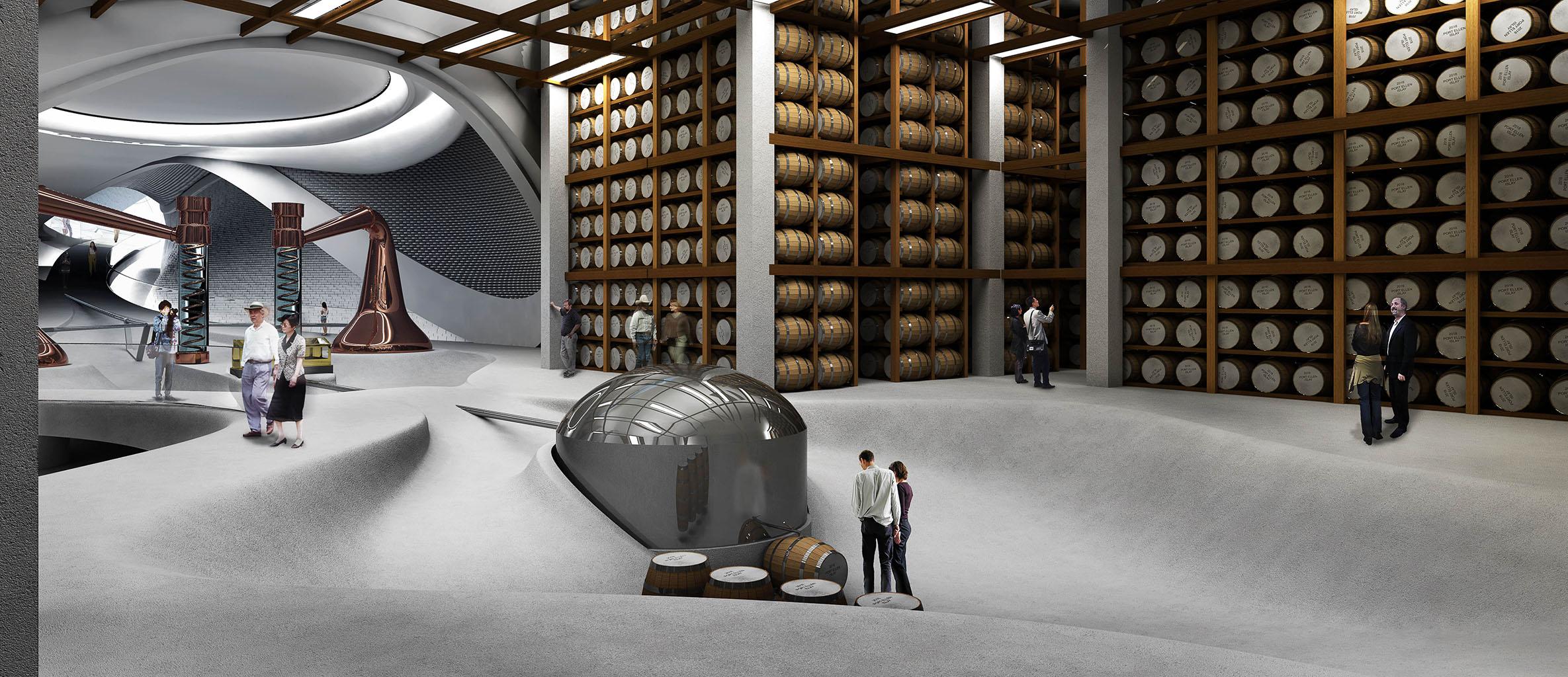 Storage - Port Ellen Distillery - e Bléck architects - Philippe Grotenrath