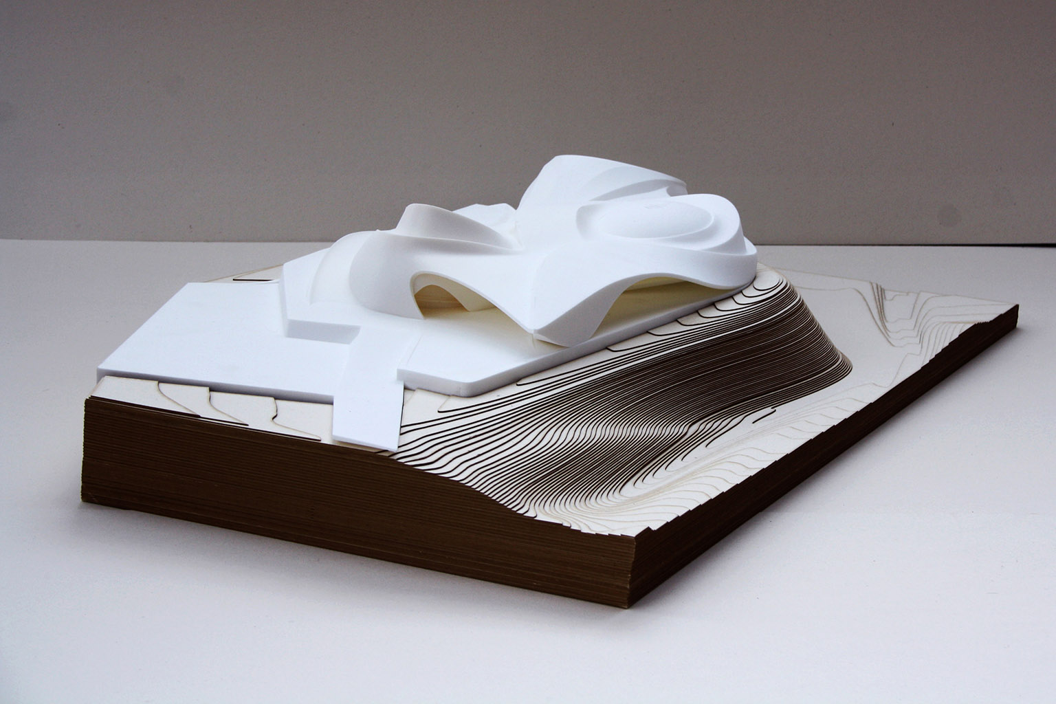 Physical Model - e Bléck architects - Philippe Grotenrath