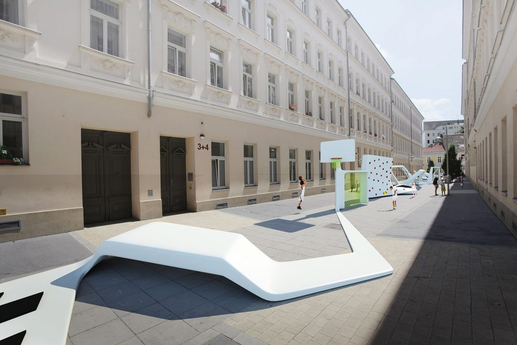 Street Players - Vienna - e Bléck architects - Philippe Grotenrath
